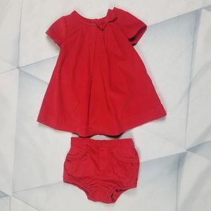 Baby Gap 6-12  3 Piece Dress